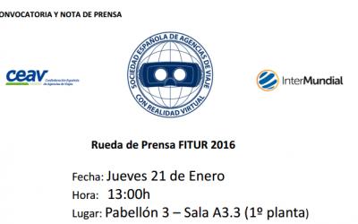 Rueda de Prensa en FITUR2016